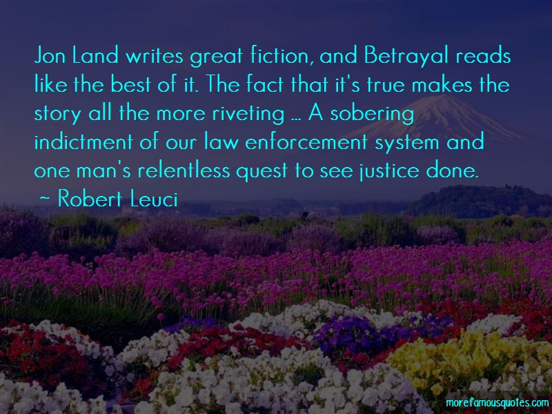 Robert Leuci Quotes