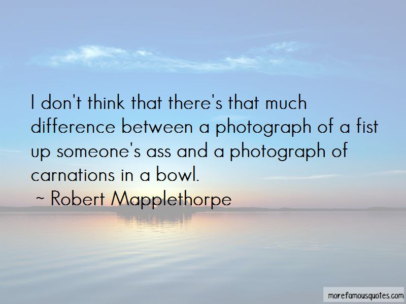 Robert Mapplethorpe Quotes Pictures 3
