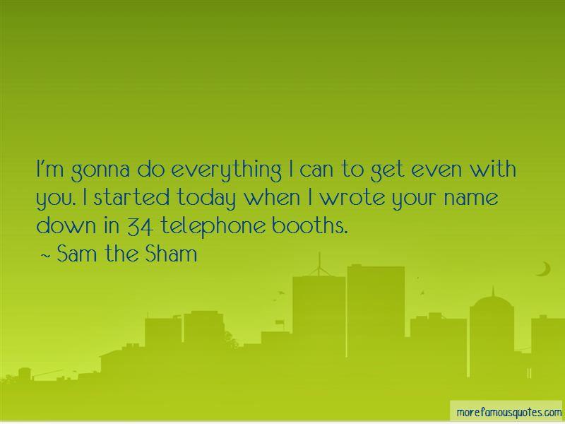 Sam The Sham Quotes Pictures 4