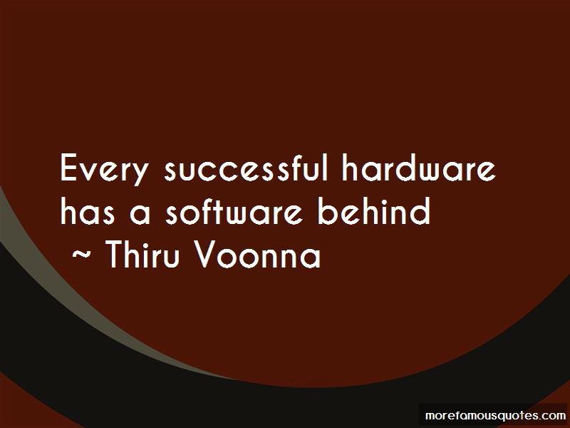 Thiru Voonna Quotes