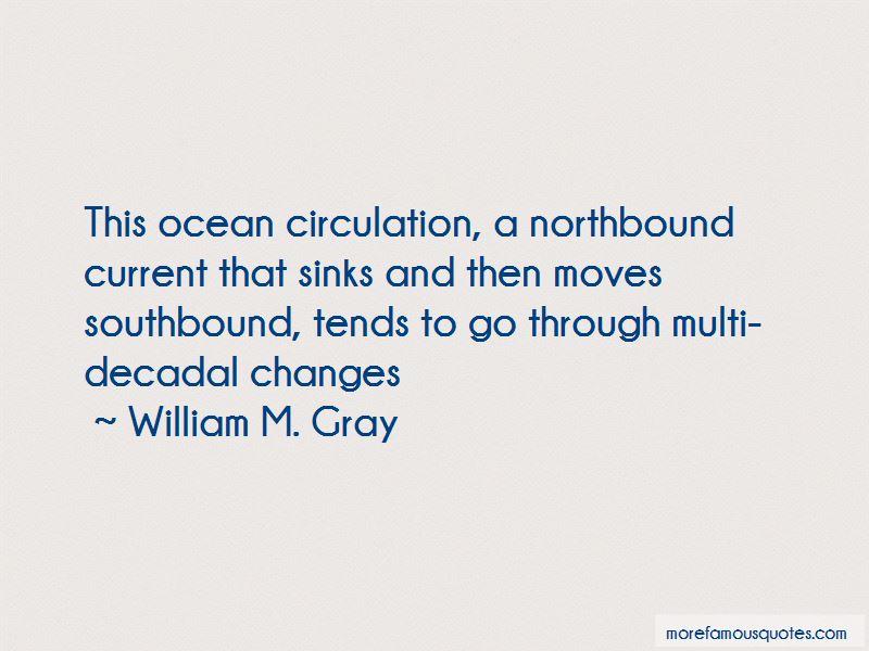 William M. Gray Quotes