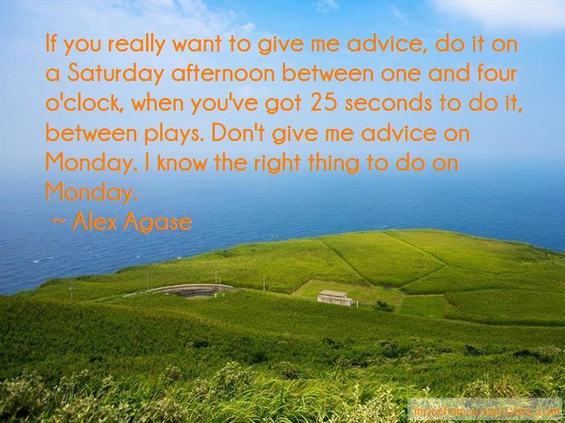 Alex Agase Quotes Pictures 2