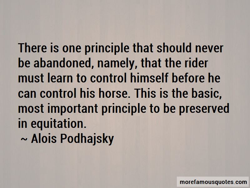 Alois Podhajsky Quotes Pictures 3