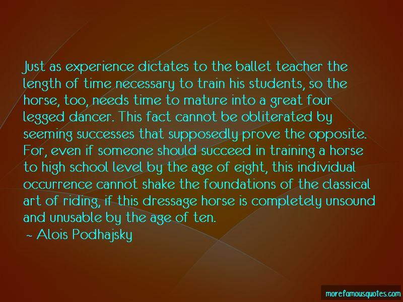 Alois Podhajsky Quotes Pictures 4