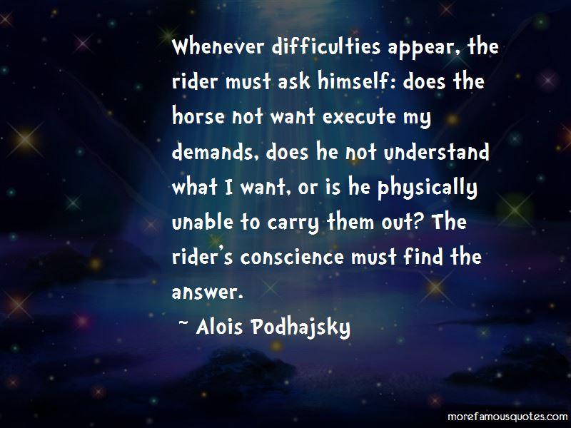 Alois Podhajsky Quotes