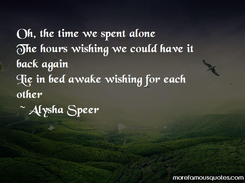 Alysha Speer Quotes Pictures 3
