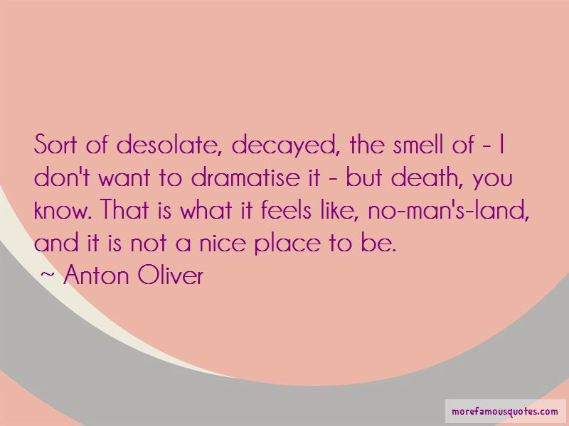 Anton Oliver Quotes