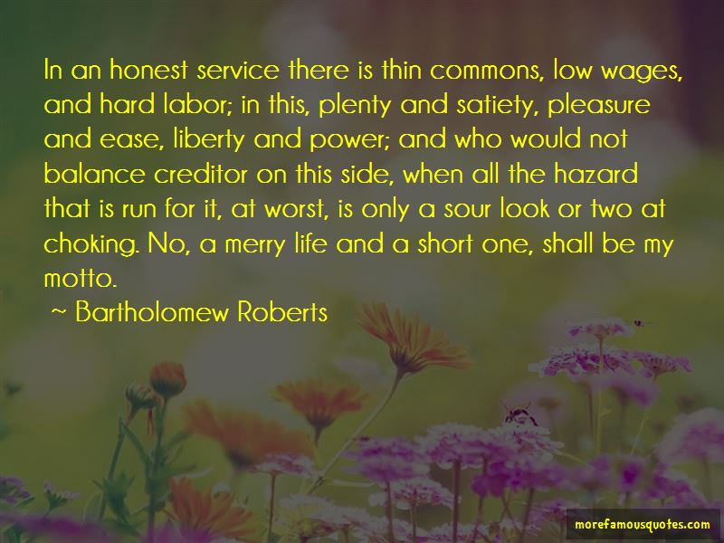 Bartholomew Roberts Quotes Pictures 4