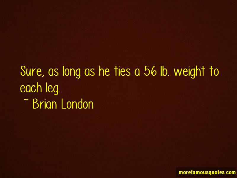 Brian London Quotes