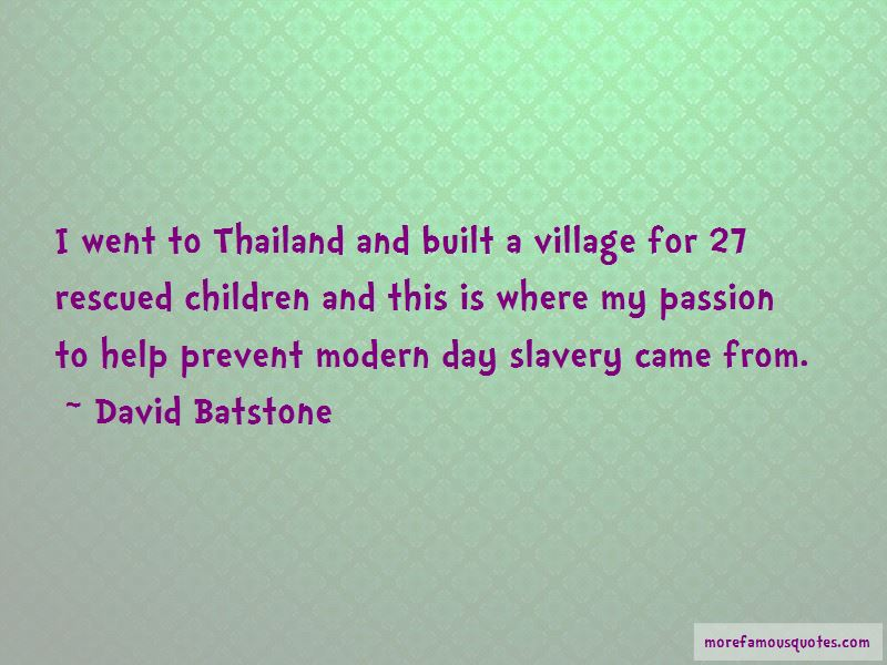David Batstone Quotes