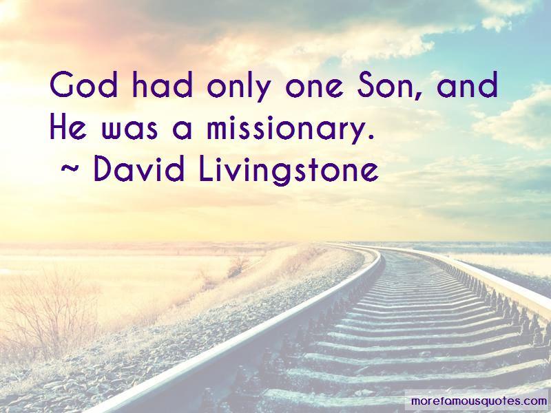 David Livingstone Quotes Pictures 4