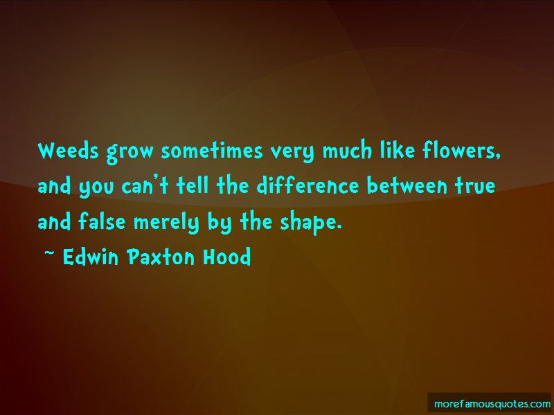 Edwin Paxton Hood Quotes