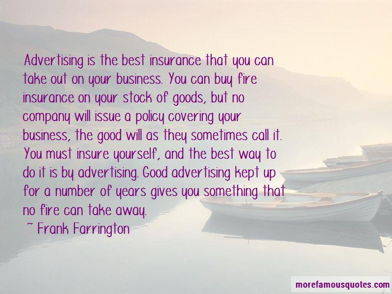 Frank Farrington Quotes