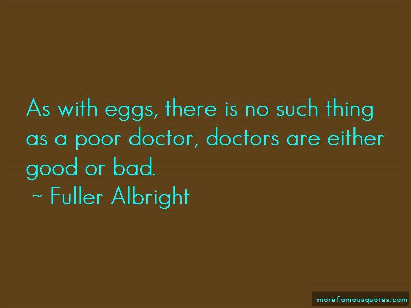 Fuller Albright Quotes
