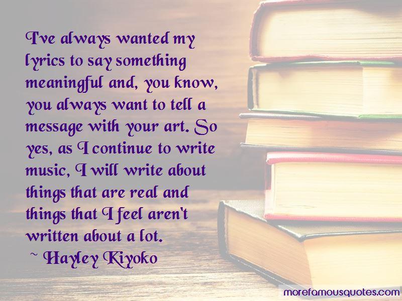 Hayley Kiyoko Quotes Pictures 4