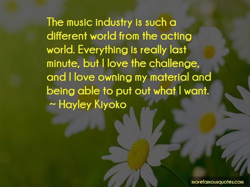 Hayley Kiyoko Quotes