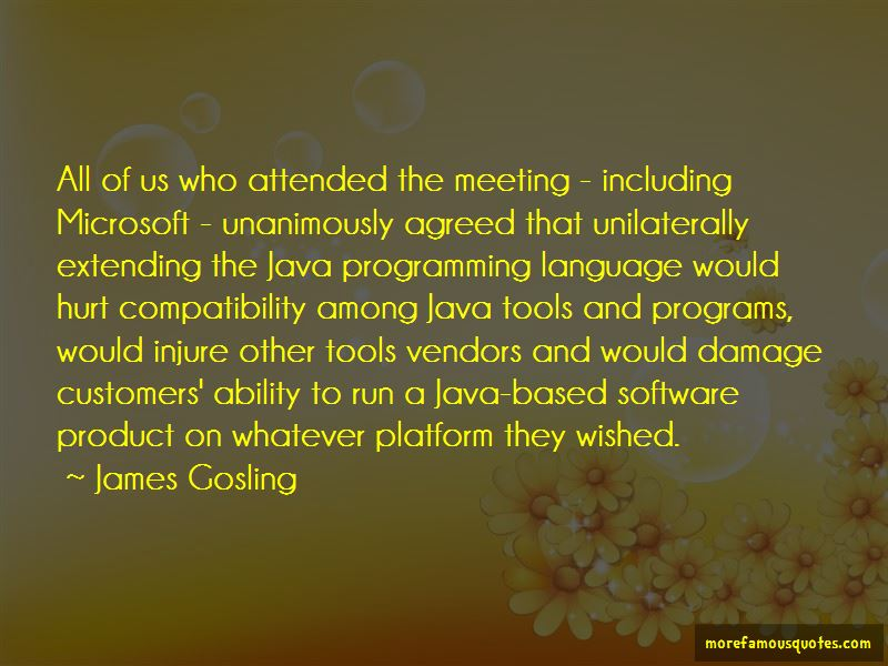James Gosling Quotes Pictures 2
