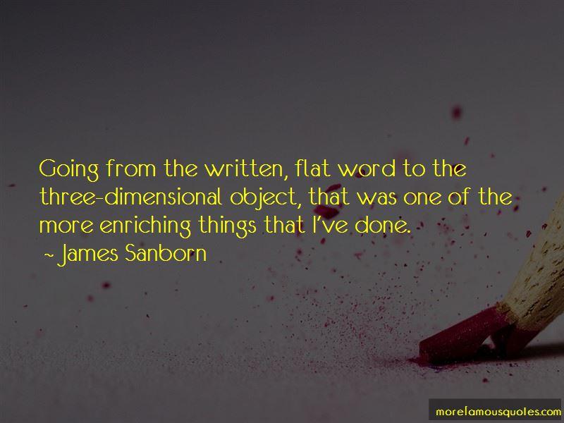 James Sanborn Quotes Pictures 2
