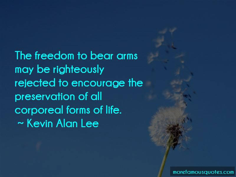 Kevin Alan Lee Quotes