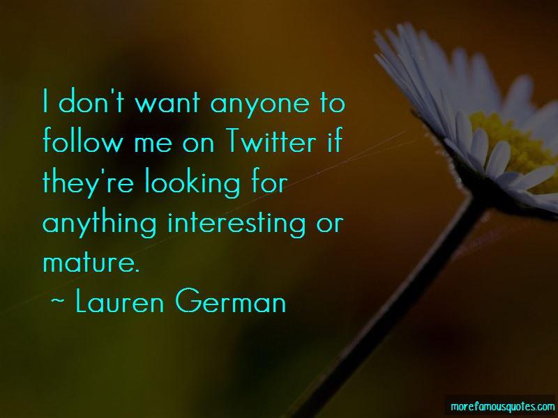 Lauren German Quotes Pictures 2