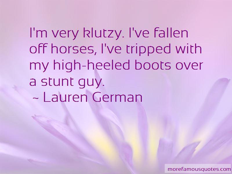 Lauren German Quotes Pictures 3