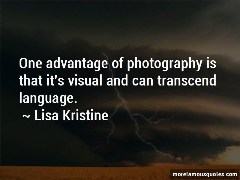 Lisa Kristine Quotes Pictures 3