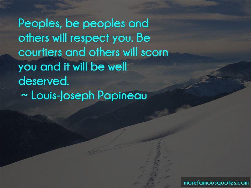 Louis-Joseph Papineau Quotes