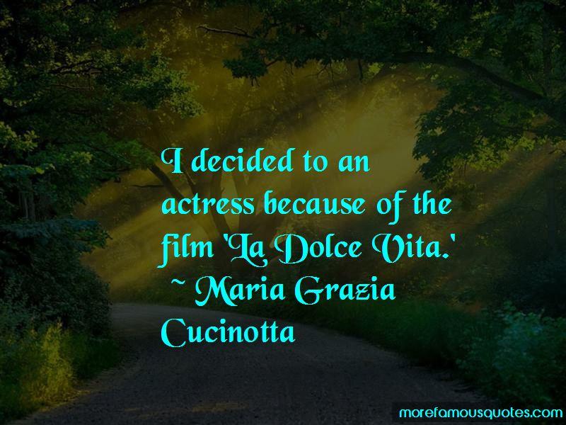 Maria Grazia Cucinotta Quotes Pictures 4