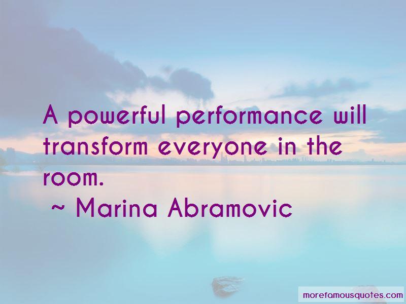 Marina Abramovic Quotes Pictures 2