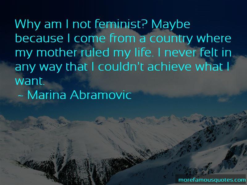 Marina Abramovic Quotes Pictures 3