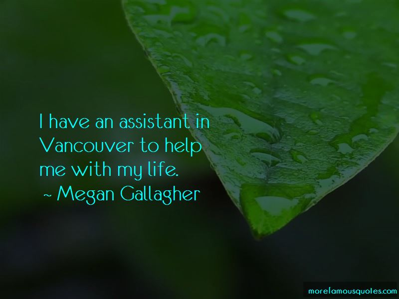 Megan Gallagher Quotes Pictures 3