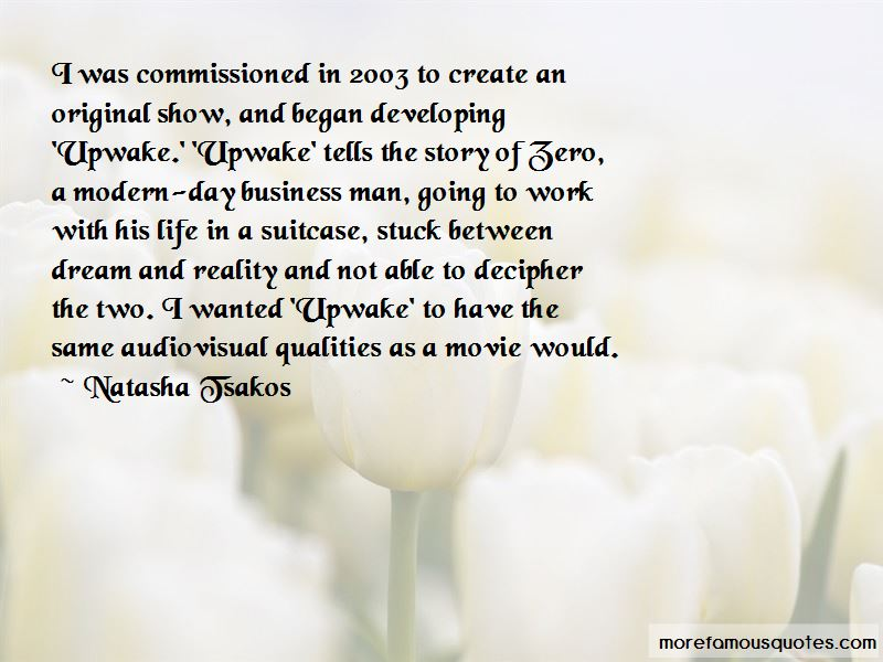 Natasha Tsakos Quotes Pictures 2