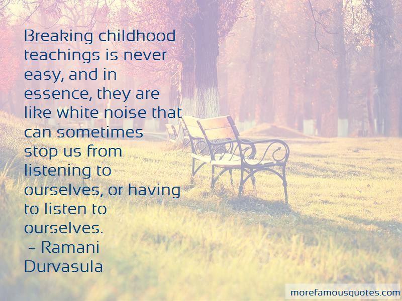 Ramani Durvasula Quotes