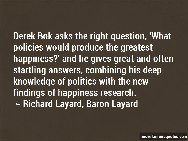 Richard Layard, Baron Layard Quotes Pictures 4