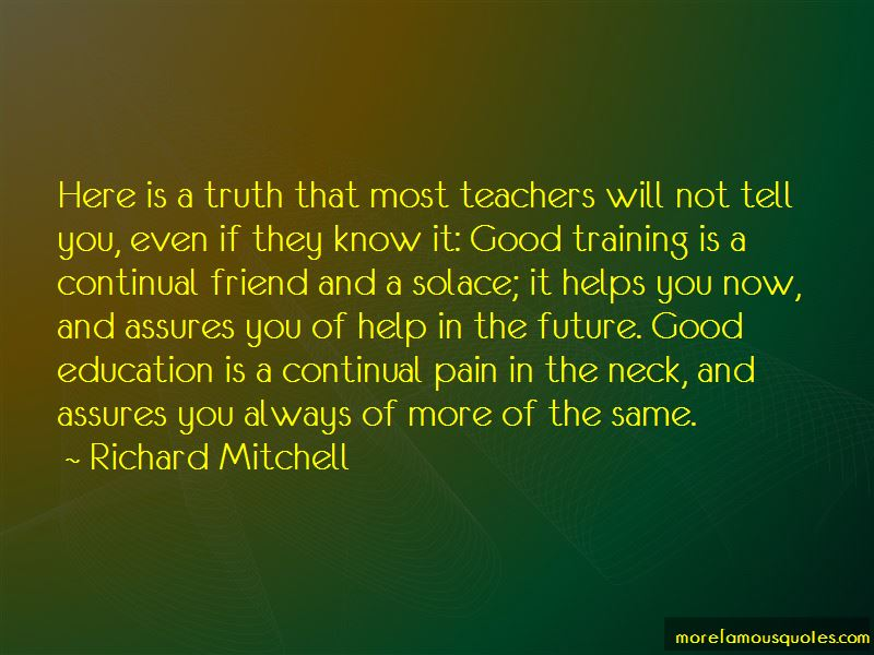 Richard Mitchell Quotes Pictures 2