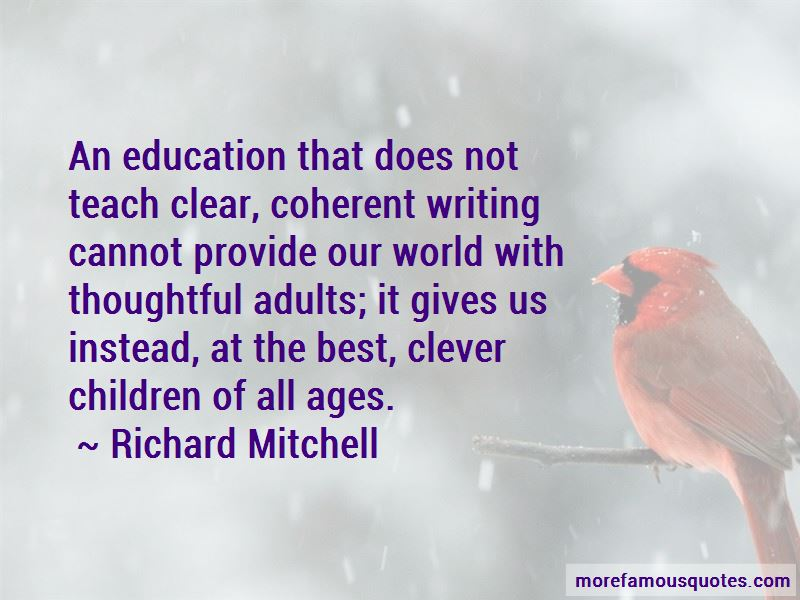 Richard Mitchell Quotes Pictures 4