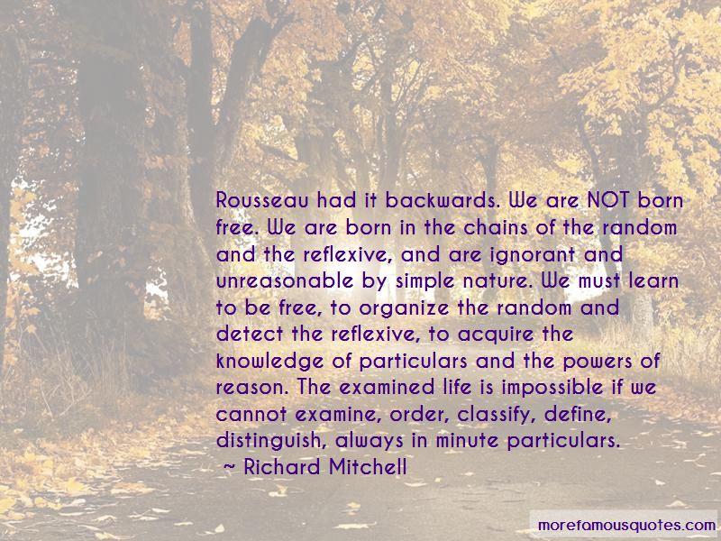 Richard Mitchell Quotes