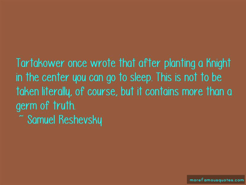 Samuel Reshevsky Quotes Pictures 2