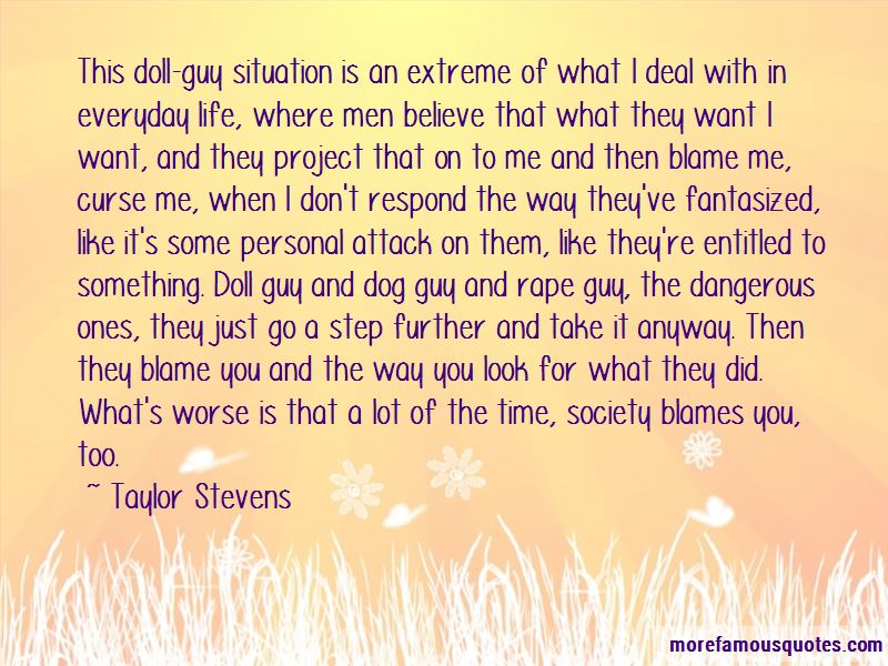 Taylor Stevens Quotes