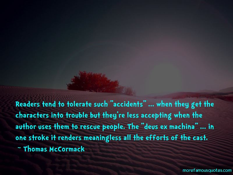 Thomas McCormack Quotes Pictures 2