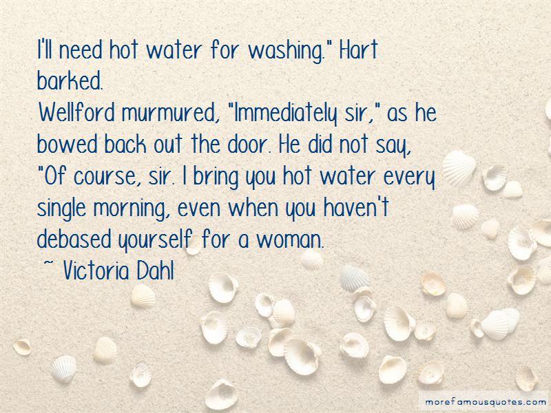 Victoria Dahl Quotes
