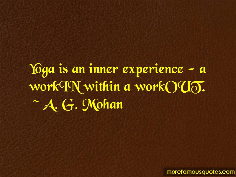 A. G. Mohan Quotes Pictures 2