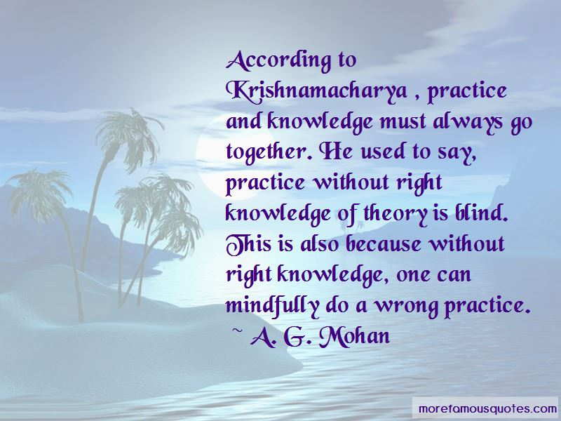 A. G. Mohan Quotes Pictures 4