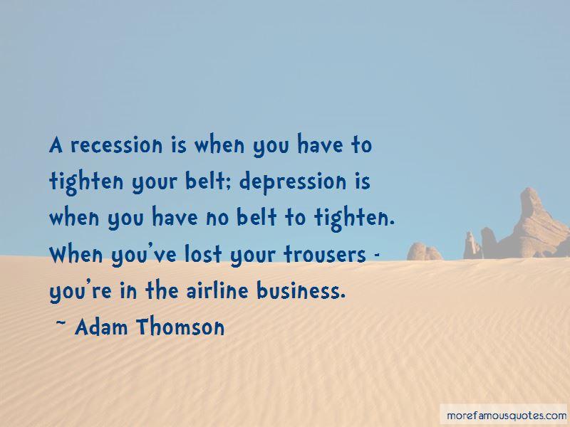 Adam Thomson Quotes