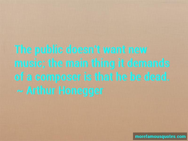 Arthur Honegger Quotes Pictures 4
