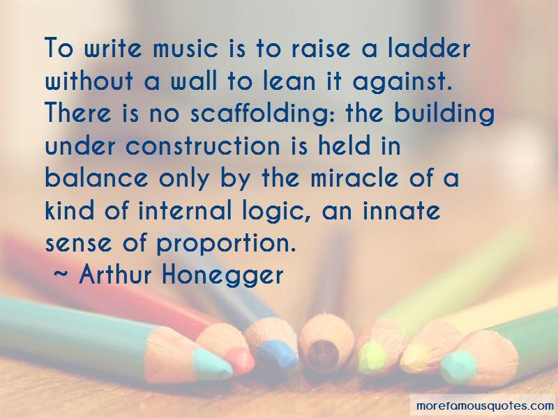 Arthur Honegger Quotes