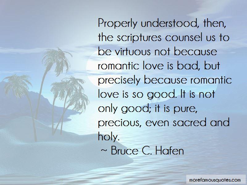 Bruce C. Hafen Quotes Pictures 3