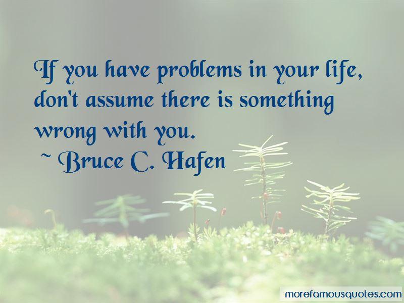 Bruce C. Hafen Quotes Pictures 4