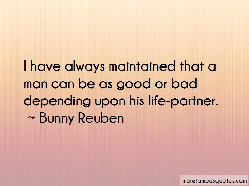 Bunny Reuben Quotes