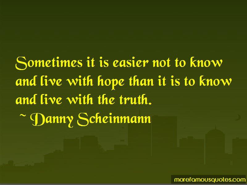 Danny Scheinmann Quotes Pictures 2